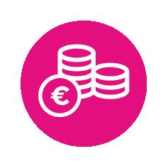 Icoon - Besparen